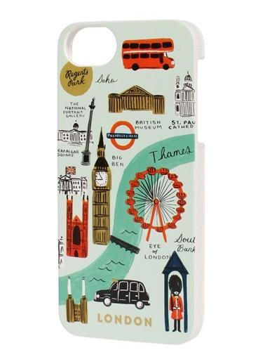 London iPhone 5/5S Kılıf-Rifle Paper Co.